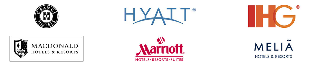 Grange Hotels, Hyatt, IHG, MacDonald, Marriott, Melia