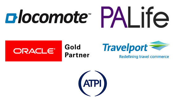Locomote, PA Life, ATPI, Oracle, Travelport
